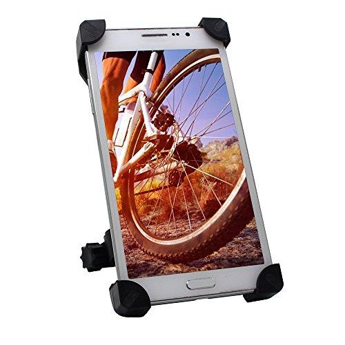 TONSHEN Fahrrad Handyhalterung Handy Fahrradhalterung Motorrad Universal Smartphones Halter 360° Drehbare Radsport Sicherheitschutz Verstellbar Handyhalter für iPhone Galaxy Andere und GPS (Kunststoff-verstellbarer Cart)
