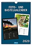 Foto- und Bastelkalender 2020: A4, 21 x 30 cm (Geschenkkalender)