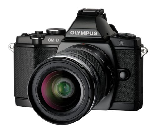 Top Olympus OM-D EM-5 Micro Four Thirds Interchangeable Lens Camera – Black (16.1MP, Live MOS, M.Zuiko 12-50mm Lens) 3.0 inch OLED Special