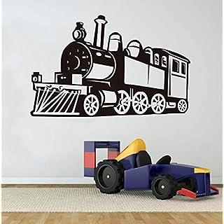 taoyuemaoyi Modische Bigtrain Wandaufkleber Vinyl Wandtattoo Home Kinderzimmer Dekoration Zug Traktor Motorycle Aufkleber Für Jungen 68 * 43 cm