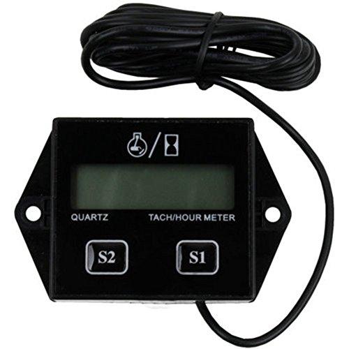 Induktive Tachometer Digital Stunde Meter Drehzahlmesser TACH Tacho für Motorrad Marine Boot ATV Schneemobil Generator Rasenmäher