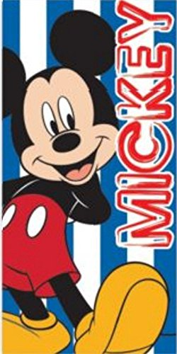Image of Disney Mickey Mouse Beach Bath Swimming towel 100% Cotton 70cm x 140cm (Mickey Mouse 264)