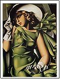 L'AFFICHE ILLUSTREE De Lempicka Stampa Artistica in offset su carta speciale gr.300 cm.60 x 80 cod.32017