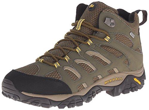Merrell MOAB MID WATERPROOF J88623, Chaussures de randonnée homme Olive