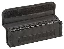 Bosch Professional 2608551099 Socket Set, 9 pezzi, 63 mm, 7-19