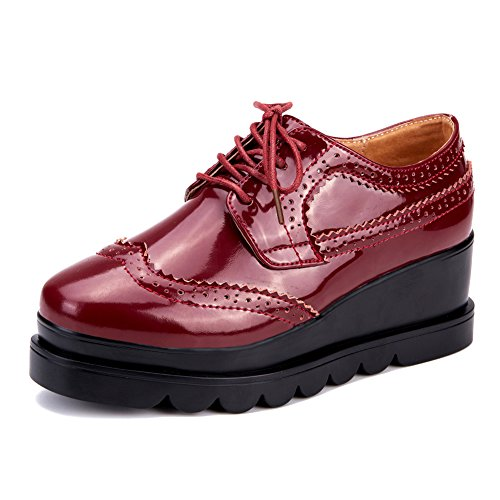 Chaussures printemps/Chaussures de Dame Brock bandeau/Chaussures de fond plat Air UK D
