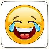 Emoji-Tränen der Freude Untersetzer