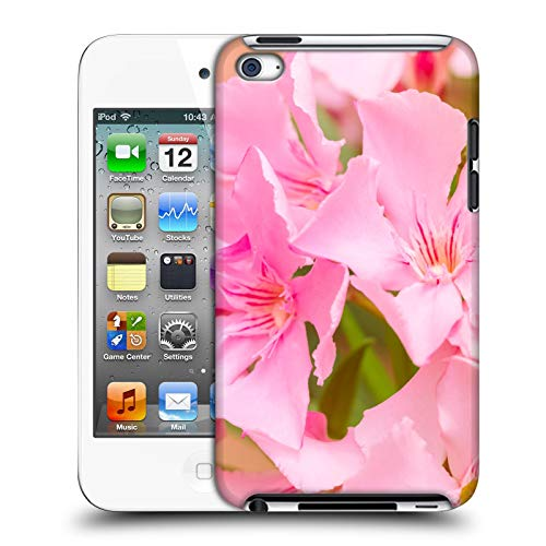 Head Case Designs Offizielle Beli Laurel Blueten Blumen Harte Rueckseiten Huelle kompatibel mit Apple iPod Touch 4G 4th Gen (Laurel Mp3)