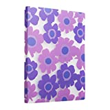 Comix A4 Porte-Vues 80 vues (40 pochettes)Motif de fleurs d'été - A526 ( Violet )