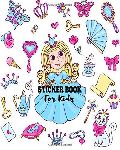Sticker Book For Kids: Blank Sticker Book Sticker Journal8x10 100 Pages: Volume 20 por Ashworth Ava