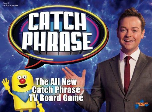 Drumond Park 1640 Catch Phrase Board Game - Blue