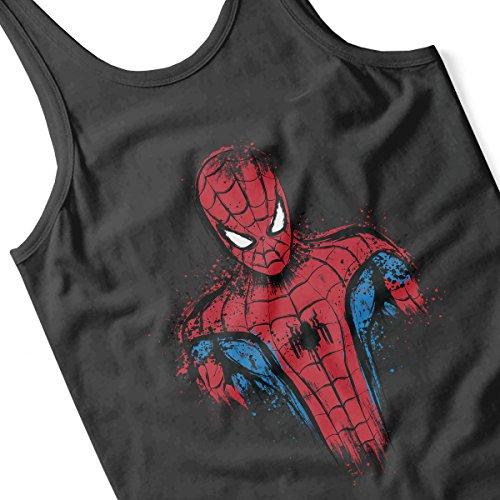 Spider Man Web Warrior Women's Vest Black