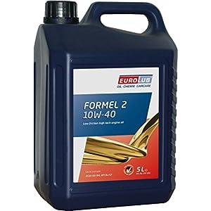 Eurolub Formel 2 Huile moteur SAE 10 W-40 5 l pas cher