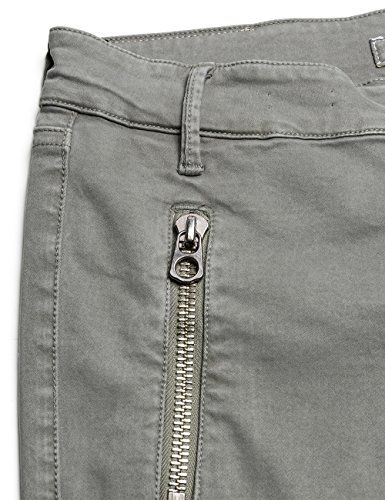 Replay Biker - Jeans - Skinny - Femme Gris - Grau (DOVE 713)