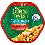 John West Lunch on the Go Mediterranean Style Tuna Salad, 220g