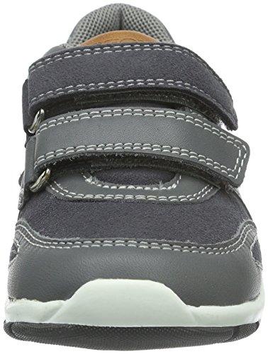 Geox B Shaax A, Chaussures Marche Bébé Garçon Grau (DK GREY/NAVYC0739)