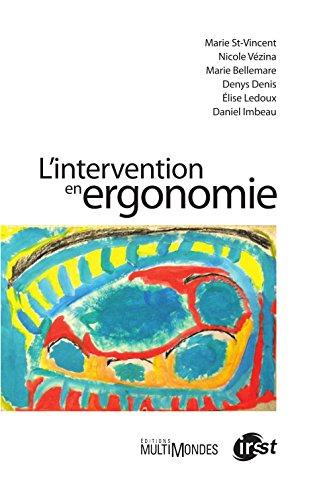 L'intervention en ergonomie par Marie St-Vincent