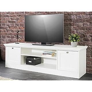 möbelando TV-Lowboard Unterschrank Fernsehtisch Sideboard HiFi Element Rack Landsted II
