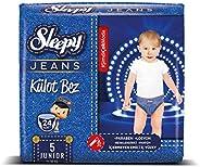 Sleepy Tek Kullanımlık Bebek Bezi, Beyaz, 24 Adet