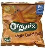 Organix Melty Carrot Sticks 20 g (Pack of 8) (organic)
