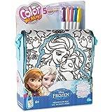 Color Me Mine - Bolsa bandolera, diseño Frozen (86598)