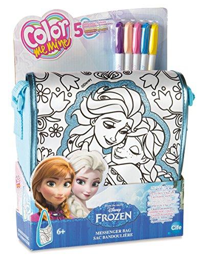 Simba - 86598 - Kit De Loisirs Créatifs - Sac Bandoulière Pailletée - Color Me Mine - La Reine des Neiges
