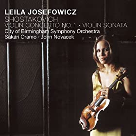 Shostakovich : Sonata for Violin and Piano Op.134 : II Allegretto