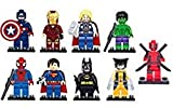 Best Lego Figures - BELA marvel super heroes set of 9 figures Review