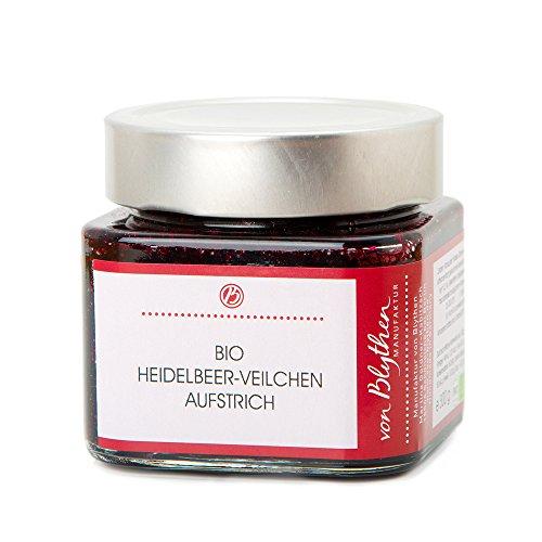Bio Aufstrich Heidelbeer Veilchen – Marmelade Konfitüre Fruchtaufstrich – Manufaktur von...