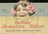 Vintage farmaceutica Dr Mills Lassativi. they Taste like Candy C1910250gsm lucido arte della riproduzione A3poster