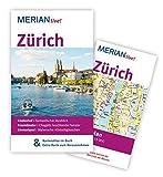 MERIAN live! Reiseführer Zürich: MERIAN live! – Mit Kartenatlas im Buch und Extra-Karte zum Herausnehmen