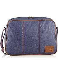 9ba417dd2 Puma Umhängetasche Grade Reporter - Bandolera, color azul, talla 40 x 28 x  13
