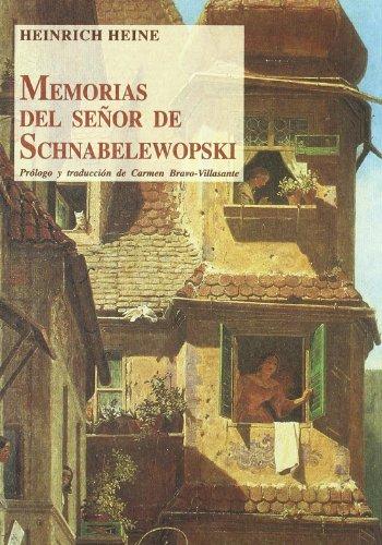 Memorias del señor de Schnabelewopski Cover Image