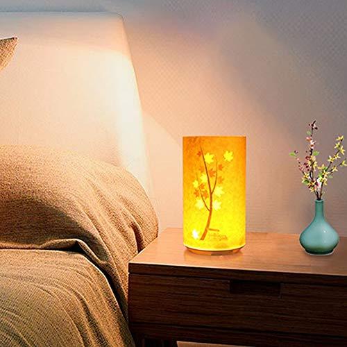 Papier schnitzen Nachtlicht aufladen Licht Schatten Papier schnitzen Lampe Tischlampe Bambusblatt @@ 1 -