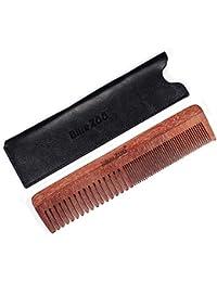 Peine de sándalo No estática Naturales Yesmile ❤ Madera natural Anti estático Peine de barba