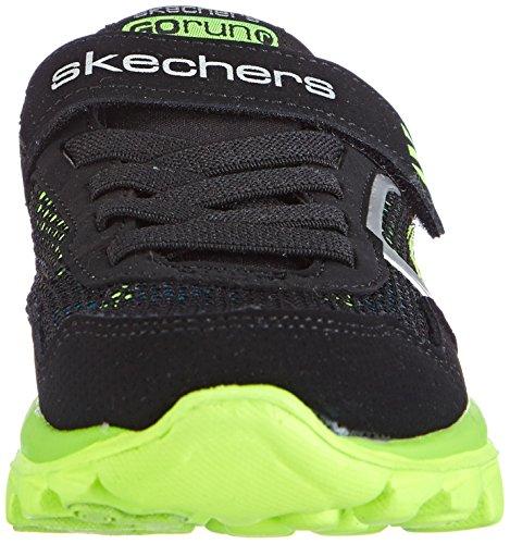 Skechers Go Run RideLil Rider Jungen Sneakers Schwarz (Bklm)