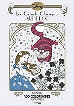 Les grands classiques art déco - 100 coloriages anti-stress d'Aurélia Stéphanie Bertrand