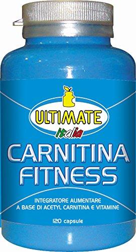 Ultimate Italia Carnitina Fitness Acetyl Carnitina e Vitamine - 120 Capsule