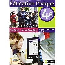 Cahier d'activités éducation civique 4e