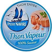 Petit Navire entier Vapeur la Boîte 130 g Thon - Lot de 6