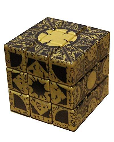 Horror-Shop Hellraiser 3 Puzzle Box als Sammlerstück, Halloween Deko & Pinhead Kostümzubehör