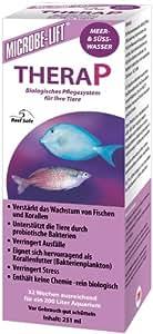 MICROBE-LIFT TheraP - Wasseraufbereiter, Bakterienpräparat für Aquarien, Meerwasser, Süßwasser - 251 ml