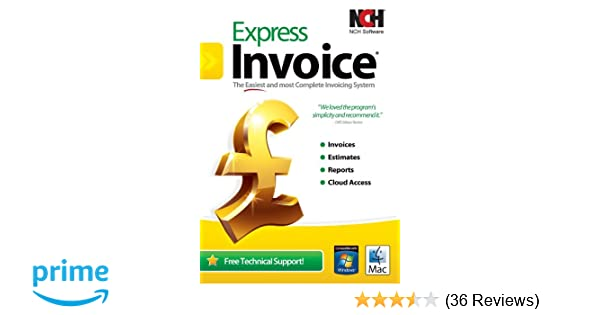 Express Invoice PCMac Amazoncouk Software - Invoice cloud reviews