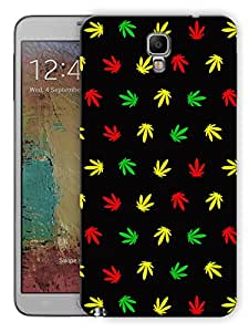 """Humor Gang Grass Pattern - Multicolor Printed Designer Mobile Back Cover For """"Samsung Galaxy Note 3 Neo"""" (3D, Matte Finish, Premium Quality, Protective Snap On Slim Hard Phone Case, Multi Color)"""