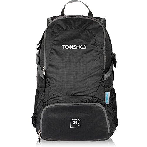 Imagen de tomshoo 30l  bolsa plegable impermeable unisexo ultra ligero de nylon para trekking viajes al aire libre ciclismo alternativa