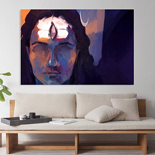 Inephos Canvas Painting - Beautiful Lord Shiva Art Wall Painting for Living...