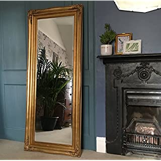 Ayers and Graces Traditional Gold Gilt Full Length Mirror (2ft 1
