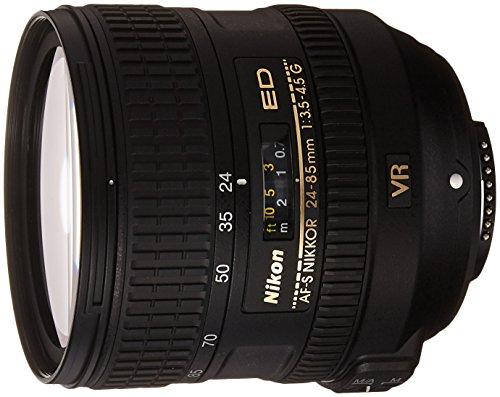 Nikon AF-S Nikkor 24-85 mm 1:3,5-4,5G ED VR Objektiv (85 Festbrennweite Nikon)