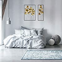 ZEZE-Iron Wall Decoration furnishings TV adhering the background of the walls are modern style cloves iron wall hangings, a large two small