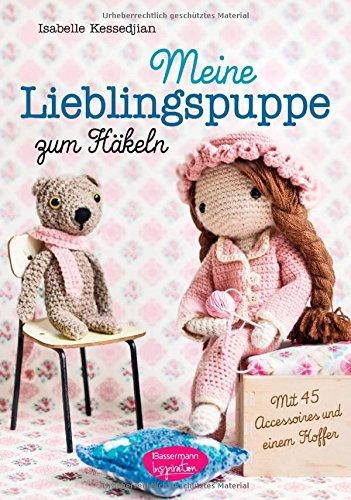 Buchseite und Rezensionen zu 'Meine Lieblingspuppe zum Häkeln: Mit 45 Accessoires und einem Koffer' von Isabelle Kessedjian